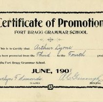 Image of 1988-023-47 - Certificate