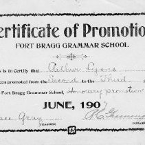 Image of 1988-023-72 - Certificate