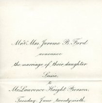 Image of 1990-006-10 - Invitation