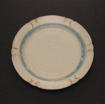 Image of Lusterware tea plate