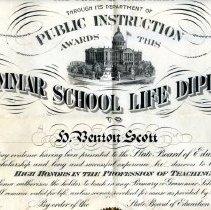 Image of 1991-083-022 - Diploma