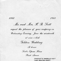 Image of 1991-083-039 - Invitation