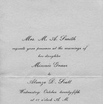 Image of 1991-083-067 - Invitation