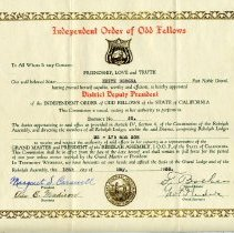 Image of 1992-006-03 - Certificate, Membership