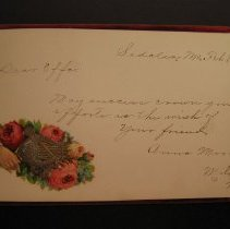 Image of Effa Fleming's Autograph Book