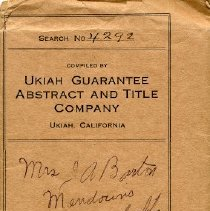 Image of Ukiah Guarantee Abstract and Title Company