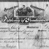 Image of 1994-134-004 - Diploma