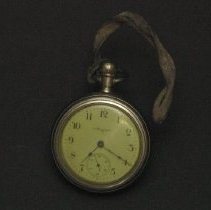 Image of Workman's pocket watch