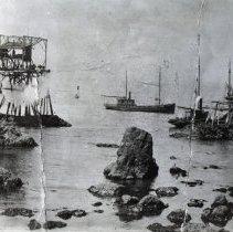 Image of Ships Loading in Westport