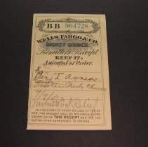 Image of Wells Fargo Money Order