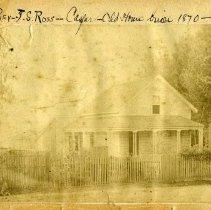 Image of John Ross house in Caspar