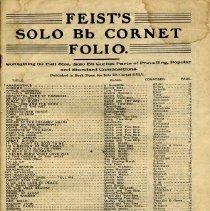 Image of 2000-11-14 - Music, Sheet