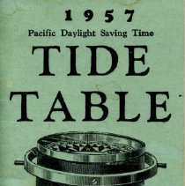 Image of Tide Table 1957