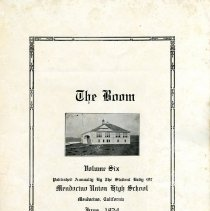 Image of The Boom 1924