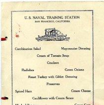 Image of 4th of July menu