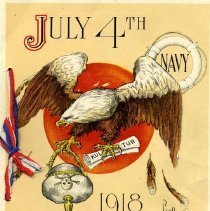 Image of July 4th card