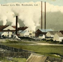 Image of Mendocino Lumber Mill