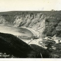 Image of Point Arena Cove at Wharf