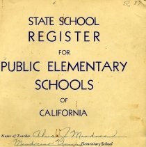 Image of State School Register