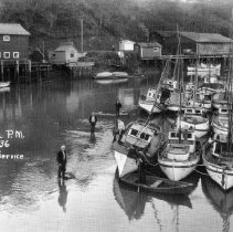 Image of Fishing Boast at Low Tide