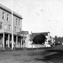 Image of Main Street, Mendocino, California