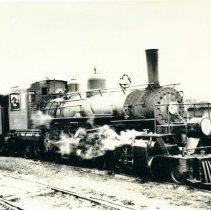 "Image of Locomotive No. 7, ""Samson"""