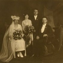 Image of Wedding of Frieda and Philip Johnson