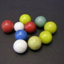 Image of Glass marbles