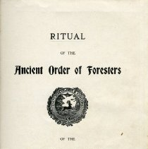 Image of Ritual of the Ancient Order of Foresters