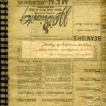 Image of 2010-008-001 - Notebook