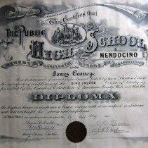 Image of 2010-028-001 - Diploma