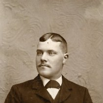 Image of Unidentified Man with Pocket Watch