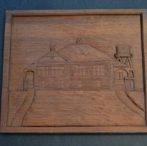 Image of Wood Carved Plaque
