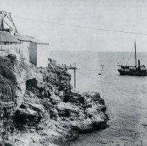 Image of Outside Chute at Bourns Landing