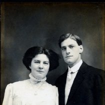 Image of Wedding Portrait of Henry and Elsie Nystrom