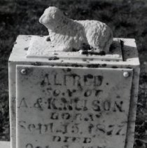 Image of Gravestone for Alfred Nelson