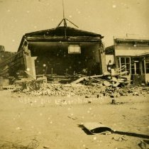 Image of Point Arena after the Earthquake