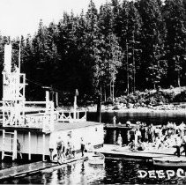 Image of 0017 -Deep Cove Home Gas Diving Board