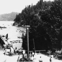 Image of 0029 - The Bay, Deep Cove, BC - Government Wharf at end of Second Street