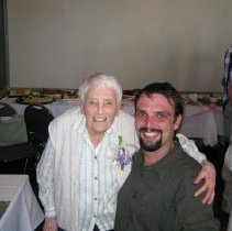 Image of 4806 - Jean Craig and Sean Addie at her 100th Birthday