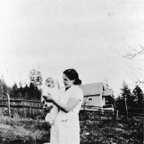 Image of 0317 - Me and Baby Ann at Home, Dolly George