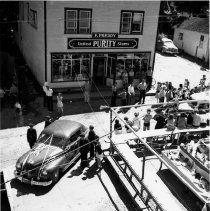 Image of 0337 - Kinsmen event, booths, car, Purity Store