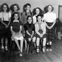 Image of 0359 - BVS midteen school girls 1960
