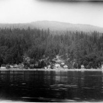 Image of 0435 - View of noth shore of Deep Cove