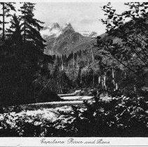 Image of 0910a - Capilano River postcard 1927