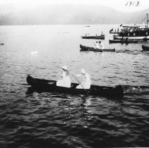 Image of 0921 - Women in canoe, 1913