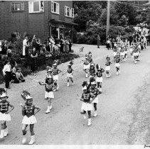 Image of 0689 - May Day, majorettes on Gallant 1952