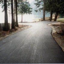 Image of 0482 - Roadway to Canoe Rentals Nov 86 - 0482 - Roadway to Canoe Rentals Nov 86 Colour image