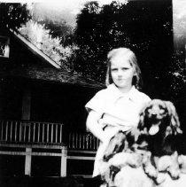 Image of 0934 - Woodlands 1938, Nancy Underhill & Rusty