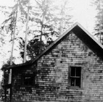 Image of Gillis first home, Mt Seymour Pkwy Side View - 0624 - Gillis first home Mt Seymour Prkwy 1924-6, across from the Golf Course